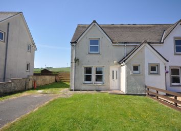 Thumbnail 2 bed semi-detached house for sale in St Stephens Terrace, Stoneykirk, Stranraer
