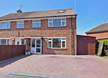 Thumbnail 4 bed semi-detached house for sale in St. Maurs Road, Ferring, Worthing, West Sussex
