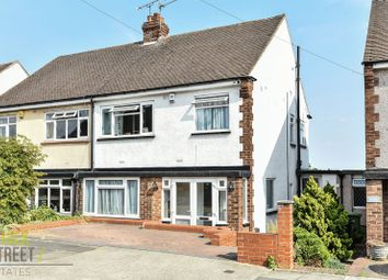 Thumbnail 3 bed semi-detached house for sale in Aintree Grove, Upminster