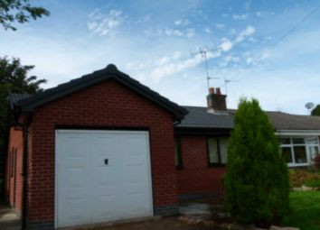 Thumbnail 3 bed semi-detached bungalow for sale in Claypool Road, Horwich, Bolton