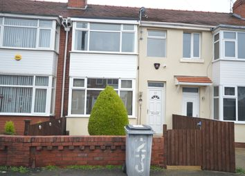 Thumbnail 2 bed terraced house to rent in Pickmere Avenue, Blackpool