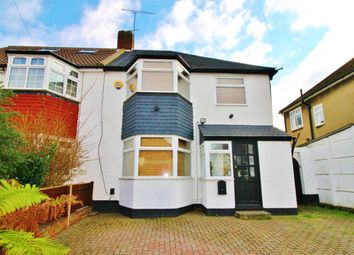 Thumbnail 3 bedroom semi-detached house to rent in Cheriton Avenue, Clayhall, Ilford