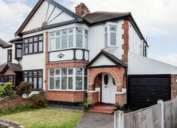 Thumbnail 3 bedroom semi-detached house for sale in Repton Avenue, Gidea Park