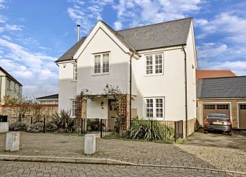 Thumbnail 4 bed detached house for sale in Hogsden Leys, St. Neots