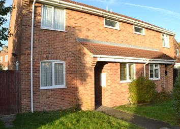 Thumbnail 1 bed end terrace house to rent in Beancroft Road, Thatcham