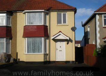 Thumbnail 3 bed semi-detached house to rent in Berkeley Road, Uxbridge
