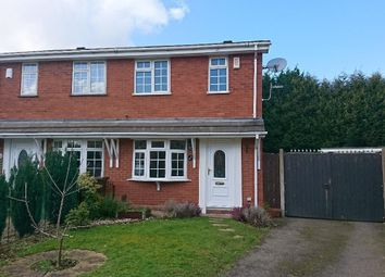 Thumbnail 2 bed property to rent in Fawley Close, Willenhall