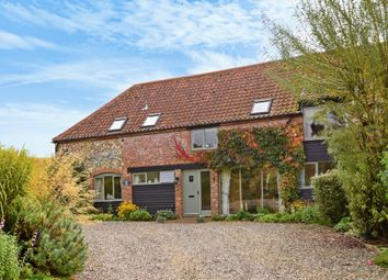 Thumbnail 4 bed barn conversion for sale in Bircham Road, Fring, King's Lynn