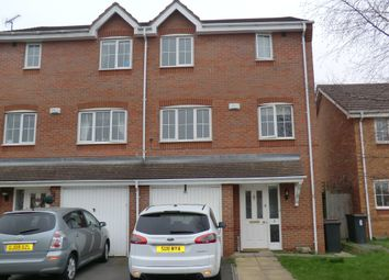 Thumbnail 4 bedroom town house to rent in Stone Meadow, Keresley End, Coventry