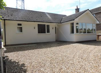 Thumbnail 3 bed detached bungalow to rent in Churchill Avenue, Bourne, Lincolnshire