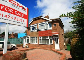 Thumbnail 2 bed semi-detached house for sale in Mildenhall Drive, St Leonards-On-Sea, East Sussex