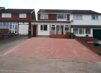 Thumbnail 3 bedroom semi-detached house to rent in Queslett Road, Great Barr