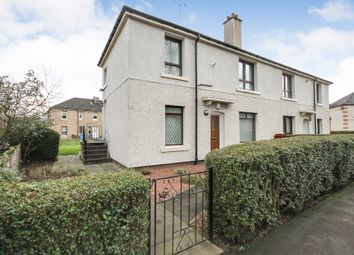 Thumbnail 2 bed flat for sale in Greengairs Avenue, Glasgow