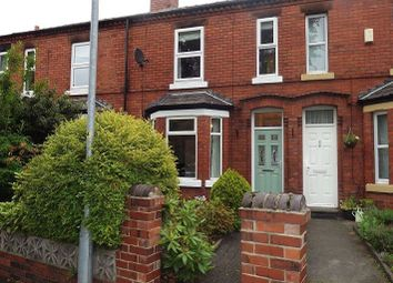 Thumbnail 2 bed terraced house to rent in Grammar School Road, Latchford, Warrington