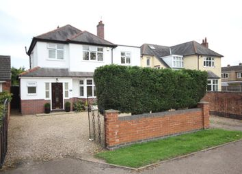Thumbnail 4 bed detached house for sale in Arbor Road, Croft, Leicester