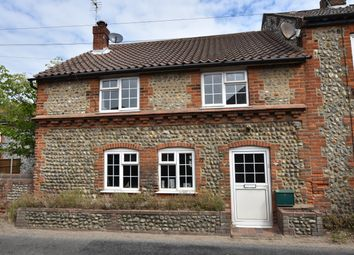 Thumbnail 3 bed end terrace house for sale in Church Street, Trimingham, Norwich