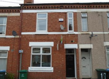 Thumbnail 5 bedroom terraced house to rent in Brunswick Road, Coventry