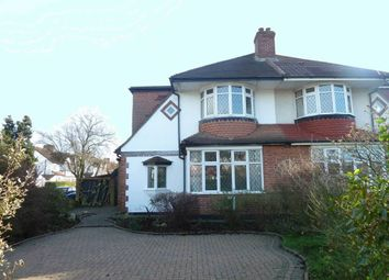Thumbnail 3 bed semi-detached house to rent in Glenwood Road, Stoneleigh, Epsom