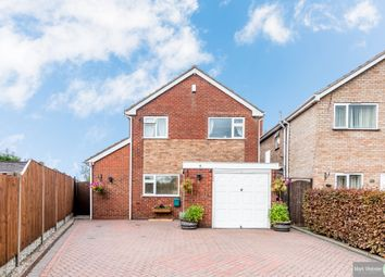 Thumbnail 3 bed detached house for sale in Tamworth Road, Wood End, Atherstone