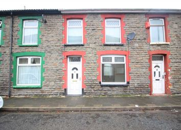 Thumbnail 2 bed terraced house for sale in Ynyscynon Road, Trealaw, Tonypandy