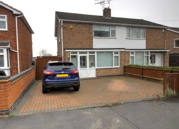 Thumbnail 3 bed semi-detached house for sale in Bennett Rise, Huncote, Leicester