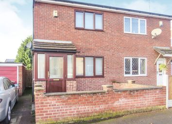 Thumbnail 2 bed semi-detached house for sale in Downing Street, Bulwell, Nottingham