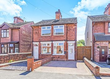 Thumbnail 2 bed semi-detached house for sale in Cotesheath Street, Hanley, Stoke-On-Trent