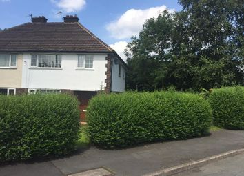 Thumbnail 3 bedroom semi-detached house to rent in Woodlands Avenue, Woodley, Stockport, Cheshire