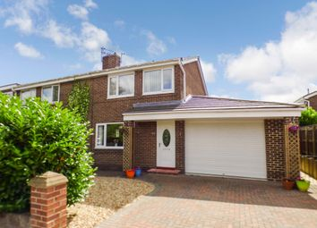 Thumbnail Semi-detached house for sale in The Gables, Widdrington, Morpeth