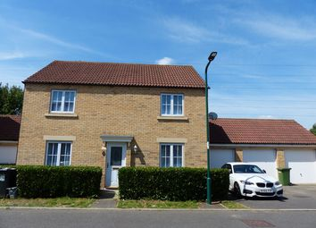 Thumbnail 4 bed detached house for sale in Bailey Way, Peterborough