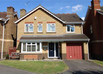 Thumbnail 4 bed detached house for sale in Boleyn Close, Grange Park, Swindon, Wiltshire