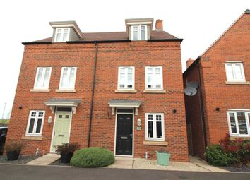 Thumbnail 3 bed semi-detached house for sale in Barnards Way, Kibworth Harcourt, Leicester