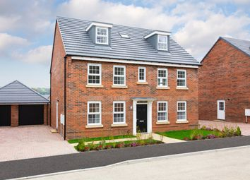 "Thumbnail 5 bed detached house for sale in ""Buckingham"" at Kensey Road, Mickleover, Derby"