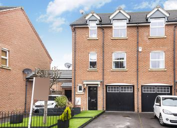 Thumbnail 3 bedroom town house for sale in Wells Drive, Hambleton, Selby