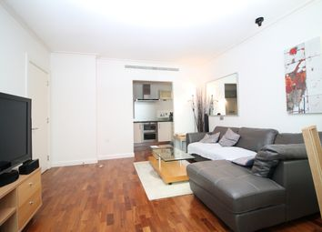 Thumbnail 1 bed flat to rent in South Quay Square, London