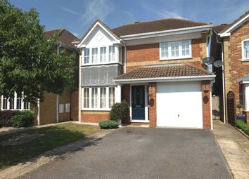 Thumbnail 4 bed detached house to rent in Swallow Close, Bicester