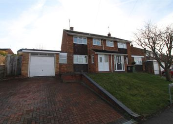 Thumbnail 3 bed semi-detached house to rent in Langdale Road, Dunstable