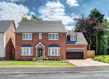 Thumbnail 5 bed detached house for sale in Quarry Close, Congleton