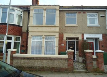 Thumbnail 3 bed terraced house to rent in Hayling Avenue, Portsmouth