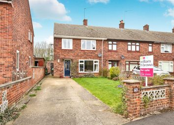 Thumbnail 3 bedroom end terrace house for sale in Coronation Grove, Swaffham