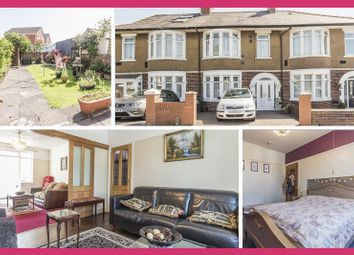 Thumbnail 4 bed terraced house for sale in Manor Way, Heath, Cardiff