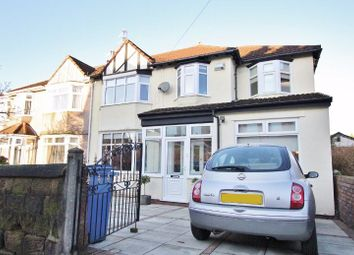 Thumbnail 5 bed semi-detached house for sale in Woodlands Road, Aigburth, Liverpool