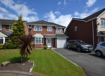 Thumbnail 4 bed detached house for sale in Dovecote Green, Westbrook, Warrington