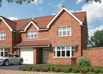 "Thumbnail 4 bed detached house for sale in ""The Durham"" at Greenfields Mews, Chester Road, Malpas"