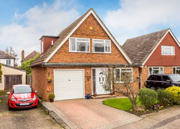 Thumbnail 3 bed detached house for sale in Headley Close, Epsom, Surrey