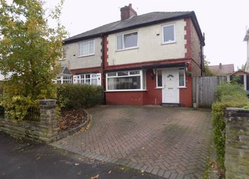 Thumbnail 3 bed semi-detached house for sale in Woodlands Avenue, Woodley, Stockport