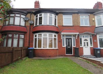 Thumbnail 3 bed terraced house to rent in Burlam Road, Middlesbrough