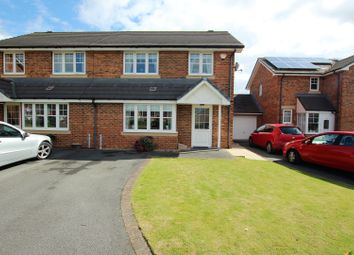 Thumbnail 3 bed semi-detached house for sale in Harle Close, Houghton Le Spring