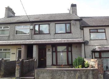 Thumbnail 3 bed terraced house for sale in Cwm-Y-Glo, Caernarfon, Gwynedd