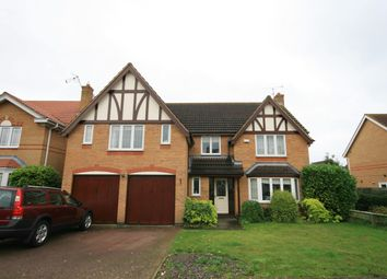 Thumbnail 5 bed detached house for sale in Balland Way, Wootton, Northampton